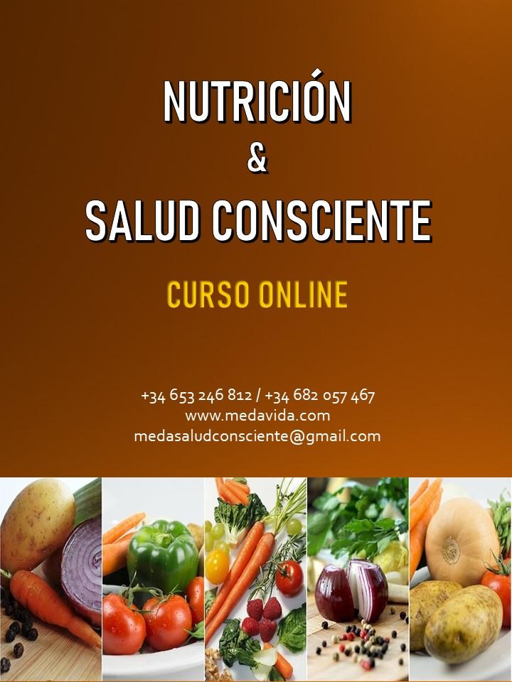 NUTRICIÓN Y SALUD CONSCIENTE. Curso Online